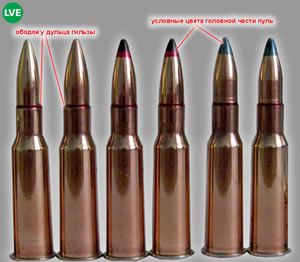 Special bullets distinctive peculiarities